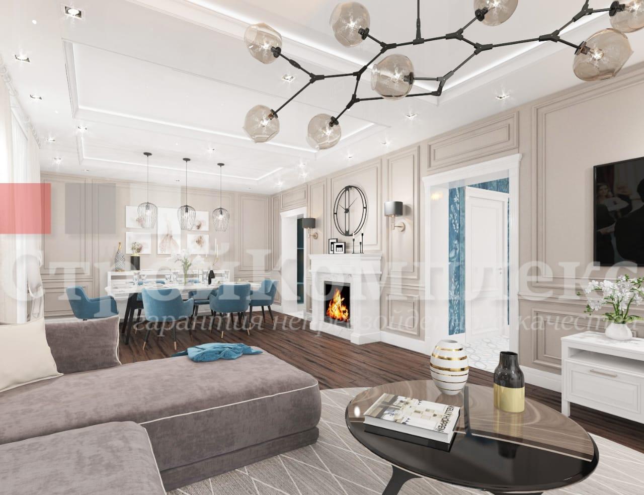 дизайн интерьера дома спб недорого