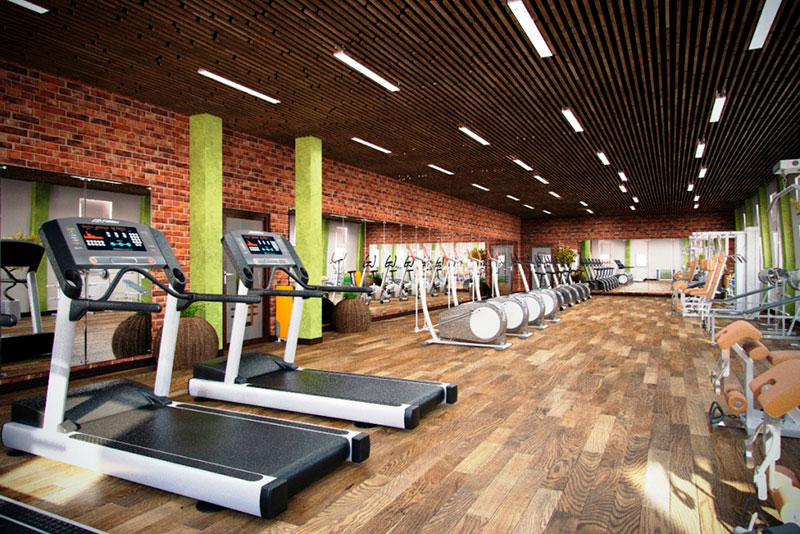 ремонт фитнес центра под ключ