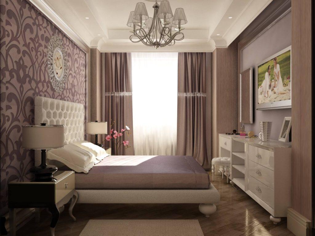 ремонт спальни под ключ