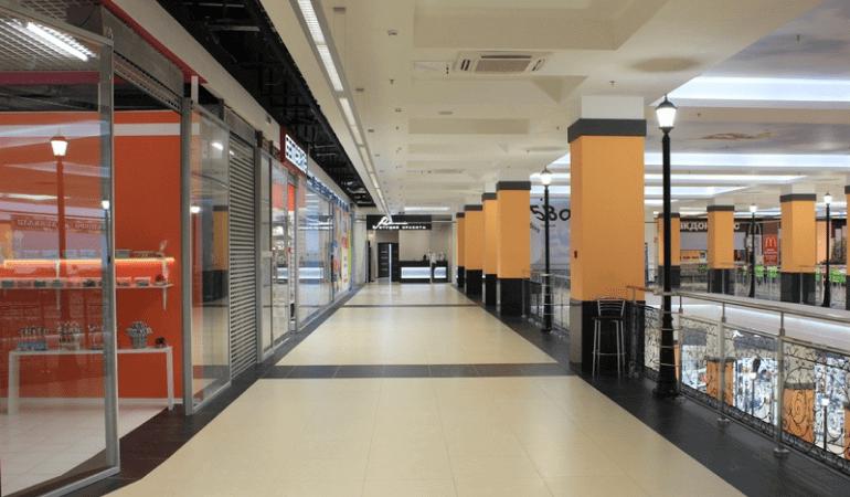 ремонт в торговых центрах под ключ