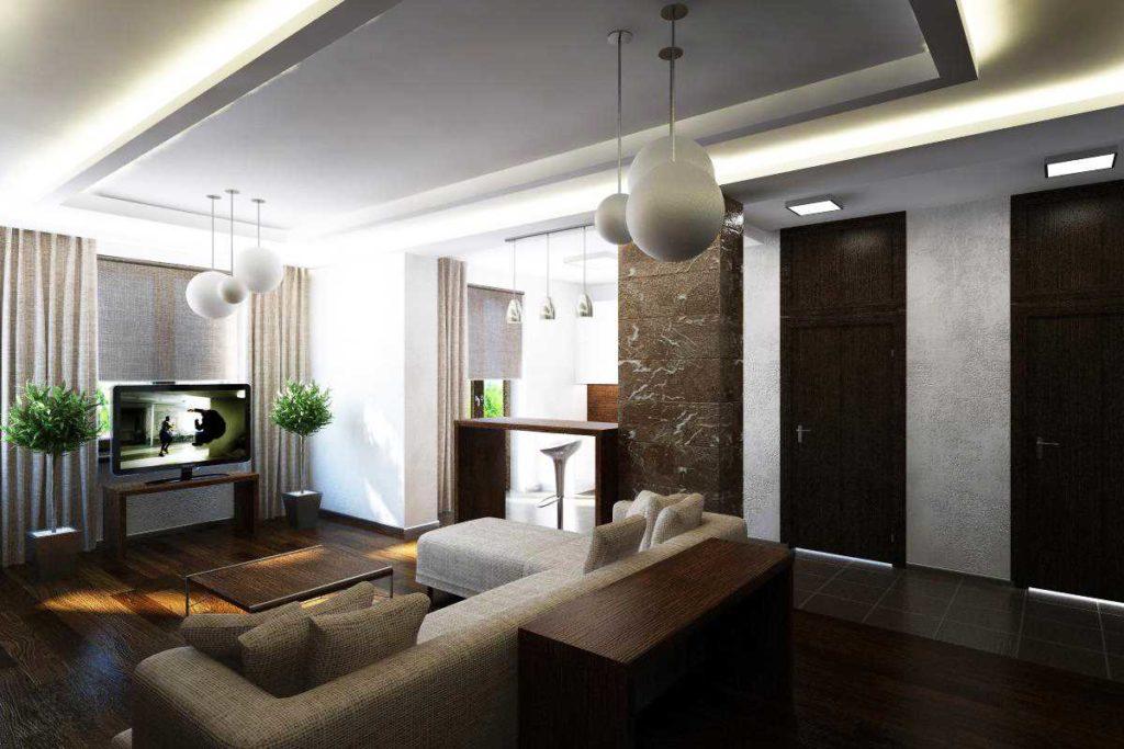 ремонт четырехкомнатной квартиры под ключ